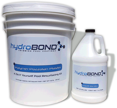 Hydrobond roll on pool plaster diy resurfacing kits roll on pool plaster solutioingenieria Image collections