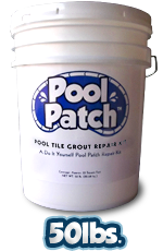 Pool Tile Grout 50lb Repair Kit